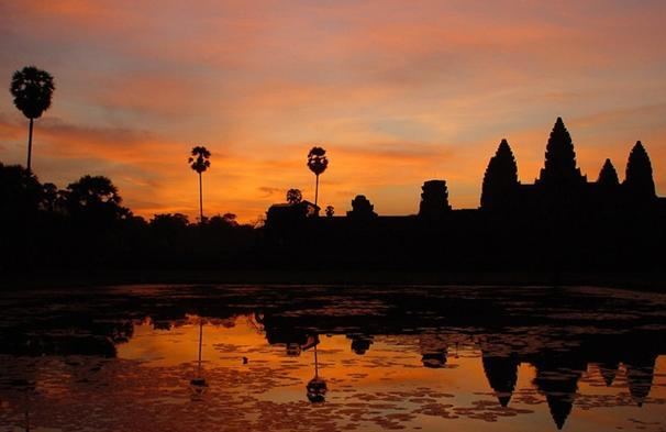 angkor wat pictures sunset angkor wat temples