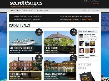 Luxury Hotel Deals Secret Escapes