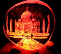 Halloween-Around-The-World-Taj-Mahal