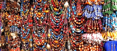 Haggling-In-Marrakech-Morocco-Jewellery
