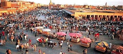 Haggling-In-Marrakech-Morocco-Shopping