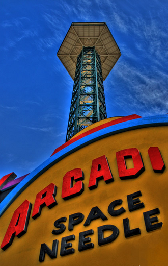 The Gatlinburg Space Needle